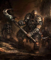 Orc 2 Concept by Darkcloud013