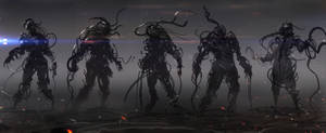cable creature concepts by Darkcloud013