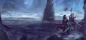 Banner Fall by Darkcloud013