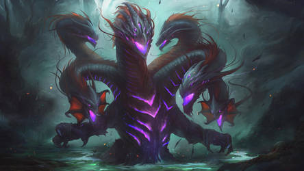Venture the Fog: Hydra by Darkcloud013
