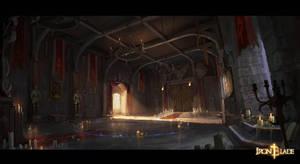 Corvin Castle Room 2 Concept by Darkcloud013