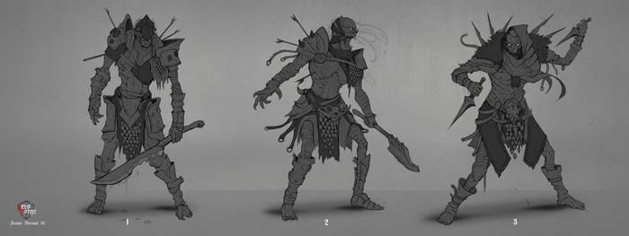 Undead Concept 01 by Darkcloud013