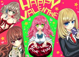 Happy-valentine 2016! by kagari0930