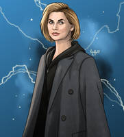The Thirteenth Doctor by RabidDog008