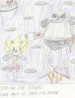 Super Sonic Vs Super Egg Armor! by mastergamer20