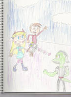 AT: Star and Marco vs Toffee by mastergamer20
