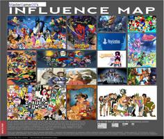 Mastergamer20's Influence Map by mastergamer20