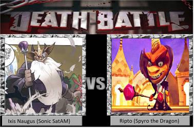 Death Battle: Ixis Naugus vs Ripto by mastergamer20