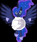 MLP / Princess Luna by BlueKrovsky