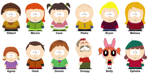 Background characters - 12 of my personal favs by Zerack-Rex