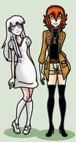 Slene and Neviah by MaliceInTheAbyss