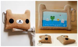 mr.brown bear by onifrogbox