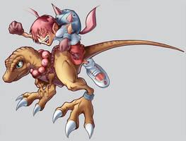 Saurus Squad Concept Art by Kuma-Team
