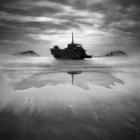 Ship wreck by Kleemass