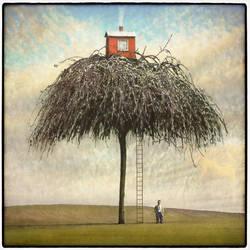 Tree house by Kleemass