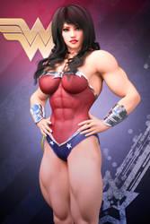 Wonder Woman by Nivilis