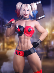 Harley Quinn by Nivilis