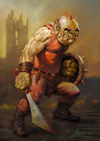 Infantry Orc by PaulAbrams