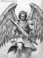 Angel of Vengence by PaulAbrams
