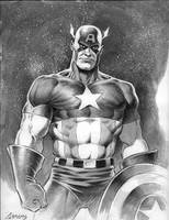 CaptainAmerica commission by PaulAbrams