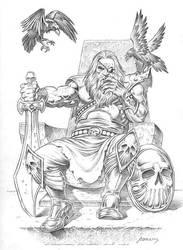 Odin by PaulAbrams