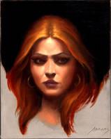 Portrait by PaulAbrams