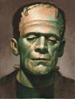 Frankenstein Monster by PaulAbrams