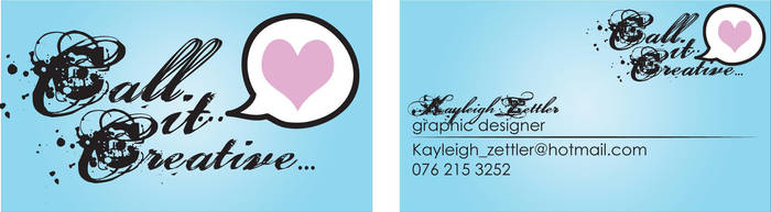 Business Card Variation... by Villen-Kay