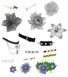 Accessories for bases - F2U by Nazori