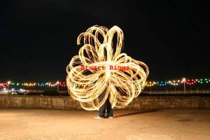 fire poi, antispin flower by firestu