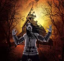 Black Metal Church burner by americanvendetta