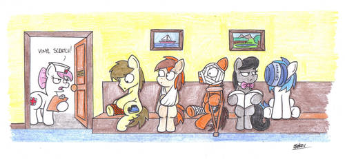 Waiting Room by bobthedalek