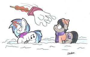 Snow Trouble by bobthedalek