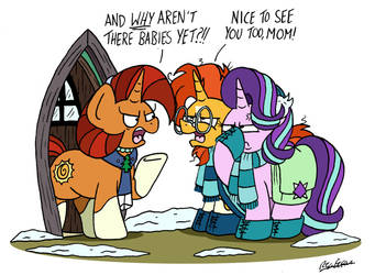 Home for Hearth's Warming by bobthedalek
