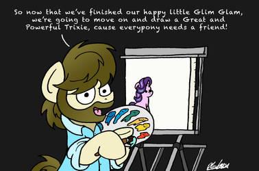 The Joy Of Pony by bobthedalek
