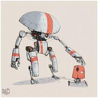 Robot-designs by SPUD0NKEY