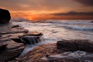 Austinmer Dawn by InnerComa