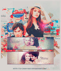 The Vampire Diaries Tag by xRounax