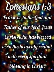 Ephesians 1:3 by ExposeTheBeauty