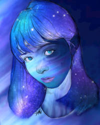 Galaxy Girl by ExposeTheBeauty
