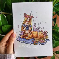 Unicorn girl by FokkusuNM