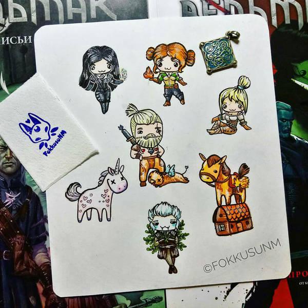 Cute Witcher3 by FokkusuNM
