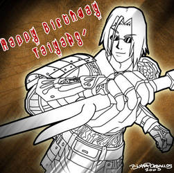 Happy Birthday Taiyang by tentenswift