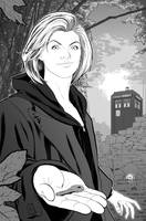 THE THIRTEENTH DOCTOR (inks) by JOSERODMOTA
