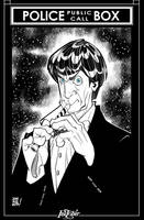 Inktober 2: 2nd Doctor by JOSERODMOTA