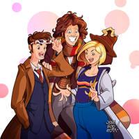 THREE DOCTORS by JOSERODMOTA