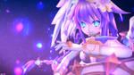 Neptunia-Purple Heart (Angel) by Megas360