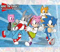 Sonic the Comic 20th by AoNoChaos