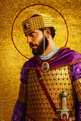 Basil II by JFoliveras