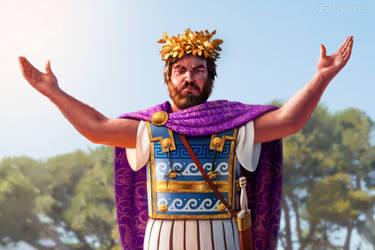 Philip II of Macedon by JFoliveras
